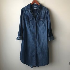 Merona denim shirtdress